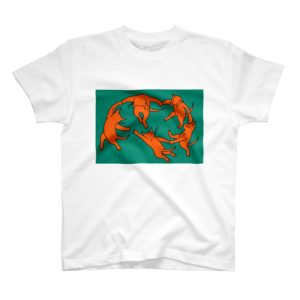 ネコのダンス Tシャツ