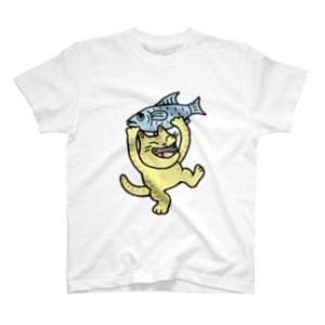 お魚ゲット~♪ Tシャツ