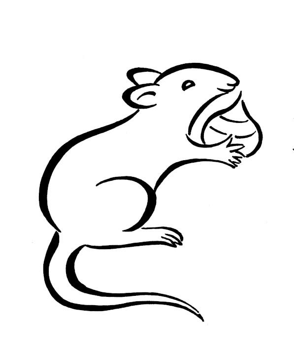 子年のネズミ